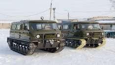 Вездеход УАЗ Узола зимой
